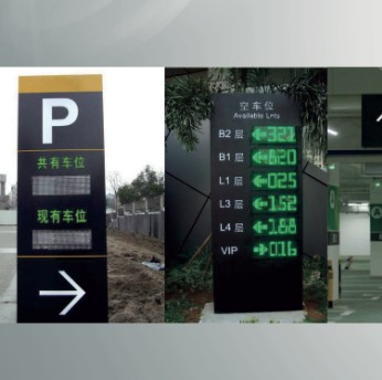 智能停车场车位引导系统